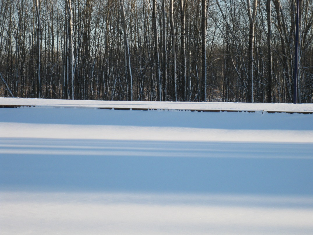 The Canal Still Frozen Over